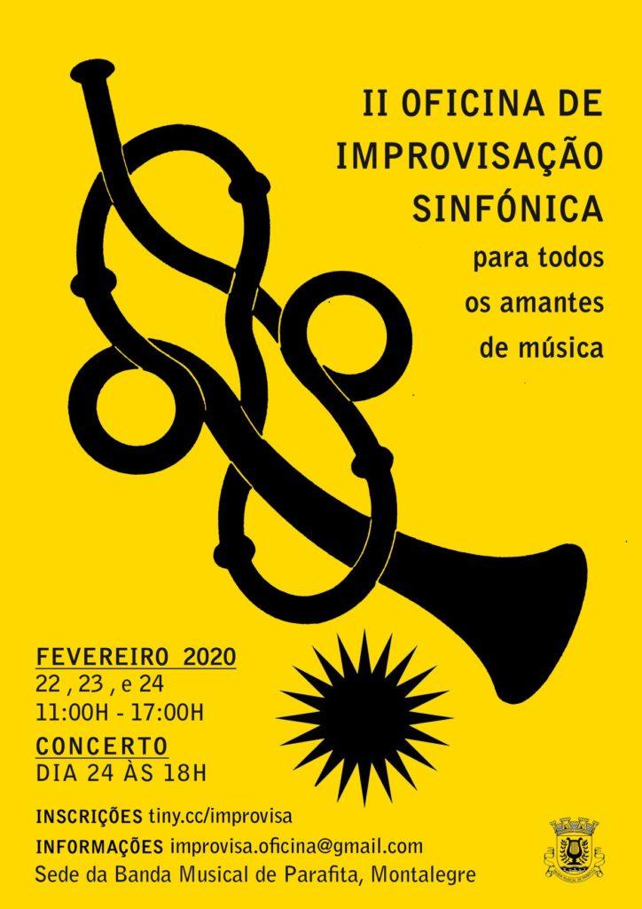 II OFICINA DE IMPROVISAÇÃO SINFÓNICA